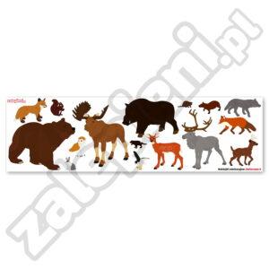 Naklejki zwierzęta 2
