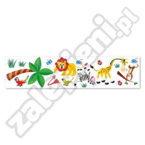 Naklejki XXL na ścianę Afrykańskie zwierzęta