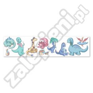 Naklejki XXL na ścianę Dinozaury 1