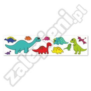 Naklejki XXL na ścianę Dinozaury 2