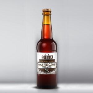 Etykieta na piwo pszeniczne