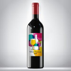 Etykieta na wino Picasso