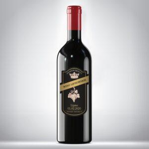 Etykieta na wino regionalne 02