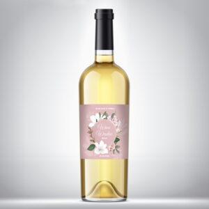 Wino weselne białe 02