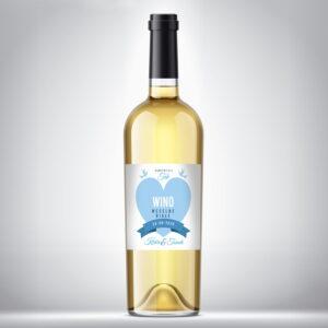 Wino weselne białe 04