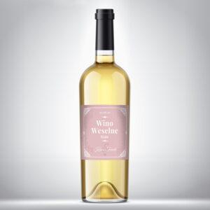 Wino weselne białe 05