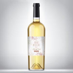 Wino weselne białe 06