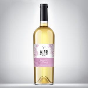 Wino weselne białe 07