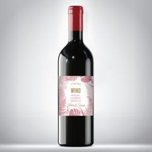 Wino weselne czerwone 03
