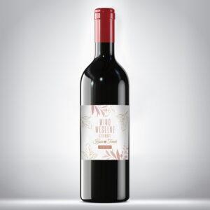 Wino weselne czerwone 06