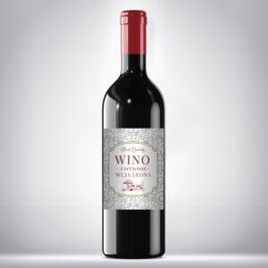 Etykieta na wino domowe 1