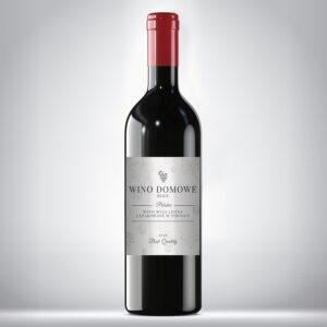 Etykieta na wino domowe 2
