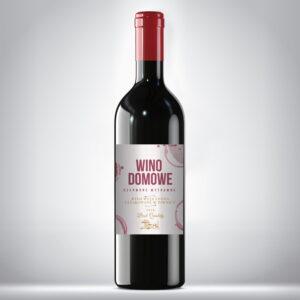 Etykieta na wino domowe 3