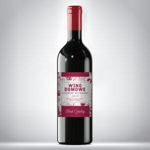 Etykieta na wino domowe 4