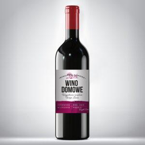 Etykieta na wino domowe 7