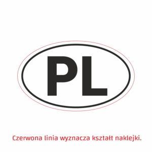 naklejka PL