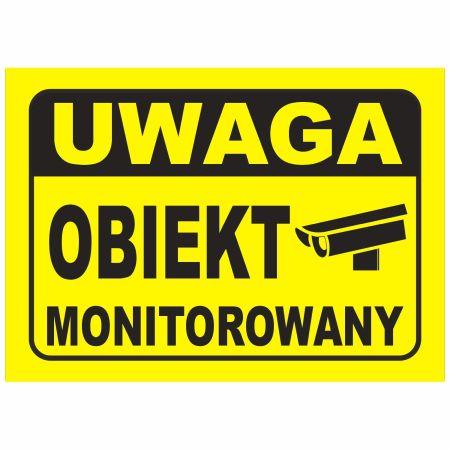 Tabliczki obiekt monitorowany kategoria