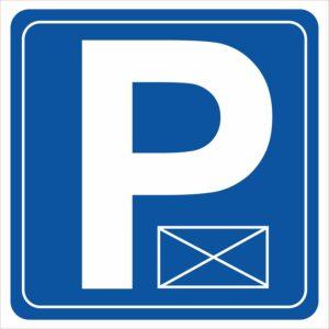 parking koperta
