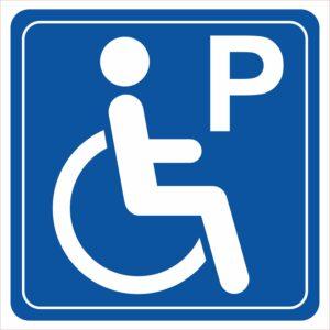parking niepełnosprawni
