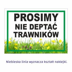 prosimy nie deptać trawników 1