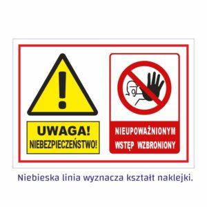 uwaga niebezpieczeństwo 1