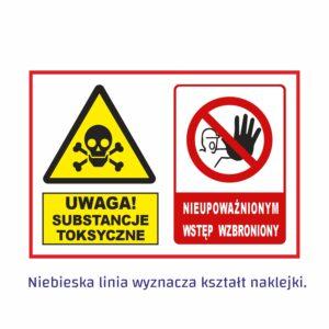 uwaga substancje toksyczne