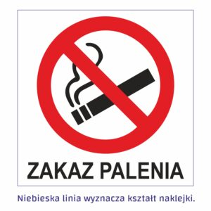 zakaz palenia kwadrat
