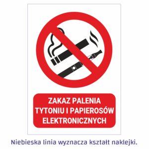 zakaz palenia pion