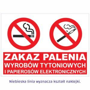 zakaz palenia poziom