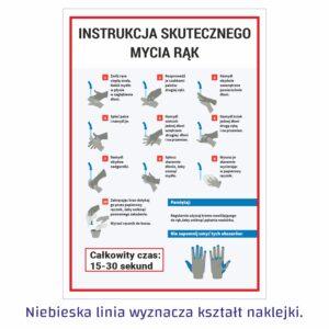 instrukcja skutecznego mycia rąk