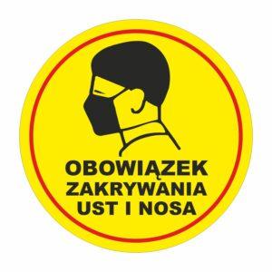 obowiązek zakrywania ust i nosa