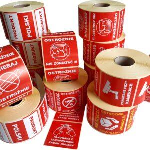 Etykiety na przesyłki