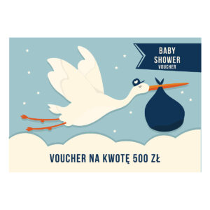 Voucher upominkowy Baby Shower 1