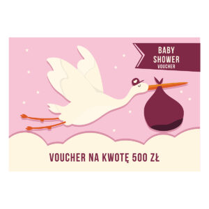 Voucher upominkowy Baby Shower 2