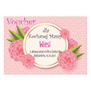 Voucher upominkowy Dzień Matki 1