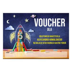 Voucher upominkowy Dla Nauczyciela 1
