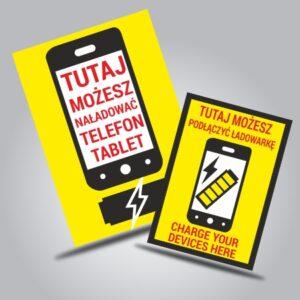Ładowanie telefonów/baterii