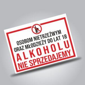 Alkohol tytoń ostrzeżenia