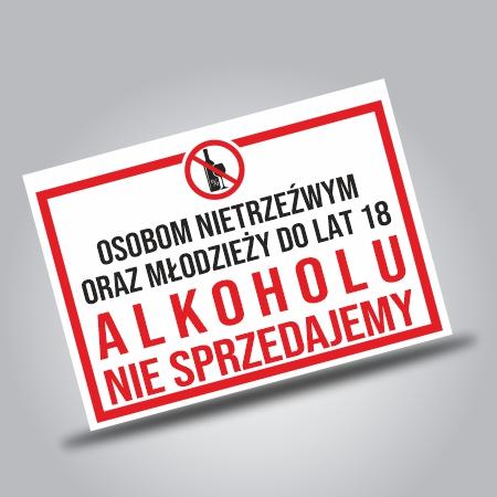 Alkohol ostrzeżenia