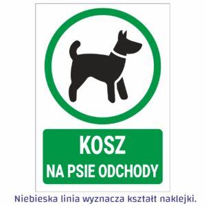 kosz na psie odchody
