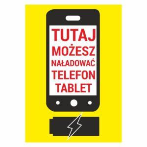 tutaj możesz naładować telefon