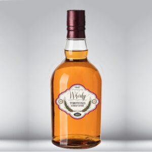 etykieta na whisky craftowe