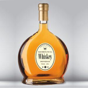 etykieta na whisky rzemieślniczą