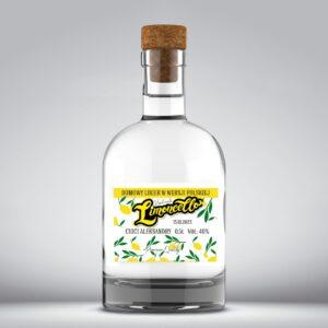 Etykieta na limoncello